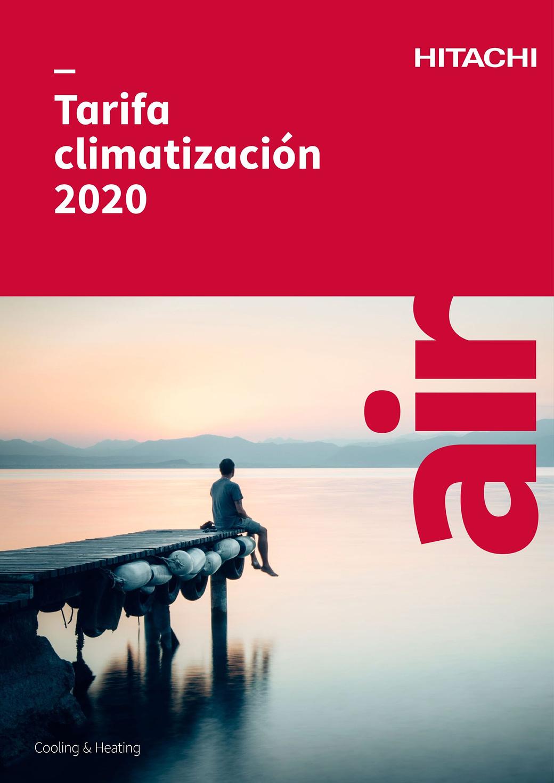 Tarifa Climatización Hitachi 2020
